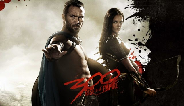Lại một tuần nữa bộ phim sử thi 300: Rise of an Empire của đạo diễn Noam  Murro vẫn khẳng định sức mạnh của mình khi chỉ chịu 'lép vế' trước bom tấn  America.