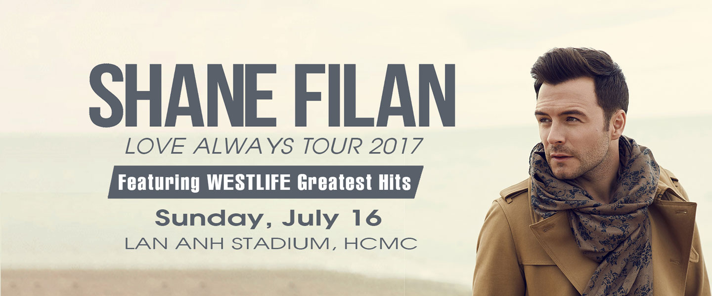 Shane Filan: Love Always Tour 2017