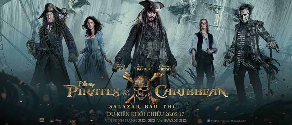 Kết quả hình ảnh cho Cướp Biển Vùng Caribbean 5: Salazar Báo Thù Pirates of the Caribbean: Dead Men Tell No Tales